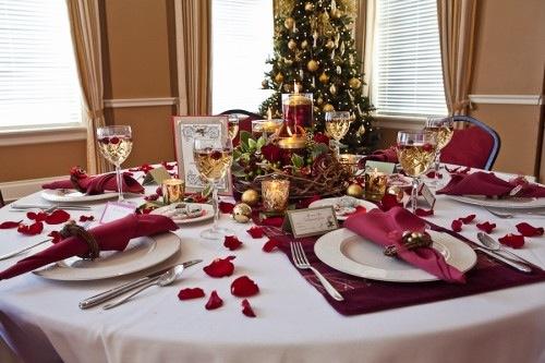 La Tavola Di Natale Immagini.Idee Per La Tavola Di Natale 2011 Ricettepercucinare Com