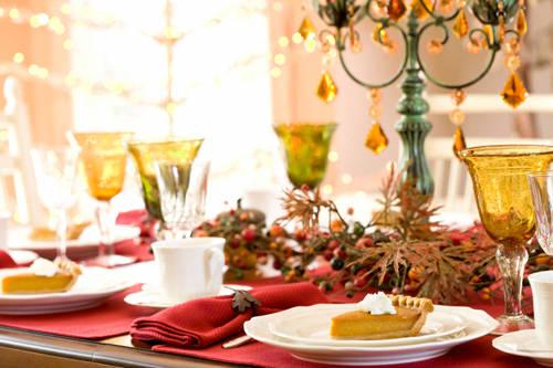 Tre appuntamenti per gli addobbi da tavola a natale - Addobbi natale cucina ...