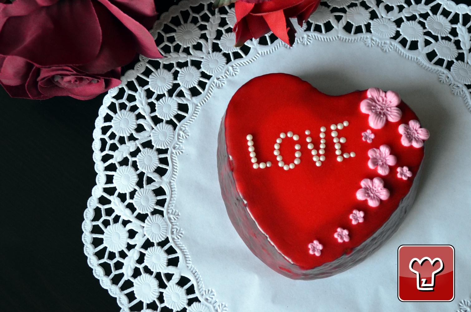 Ricetta Torta Di San Valentino Dolci