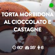 Torta cioccolato castagne