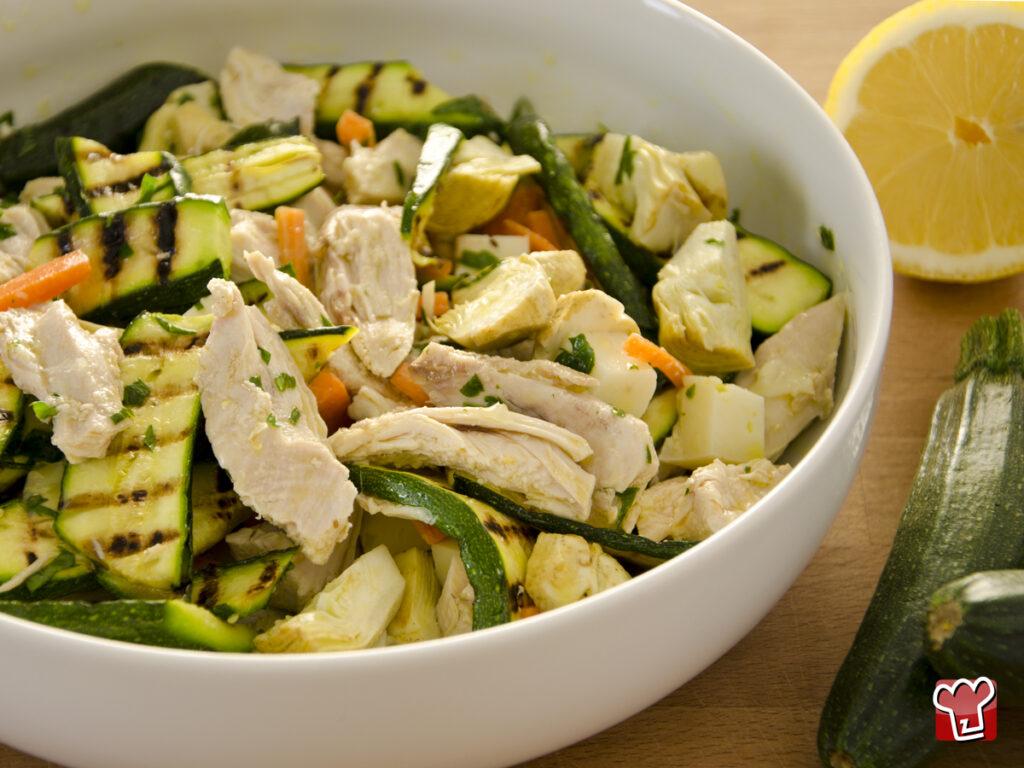 insalata di pollo - My Italian Recipes
