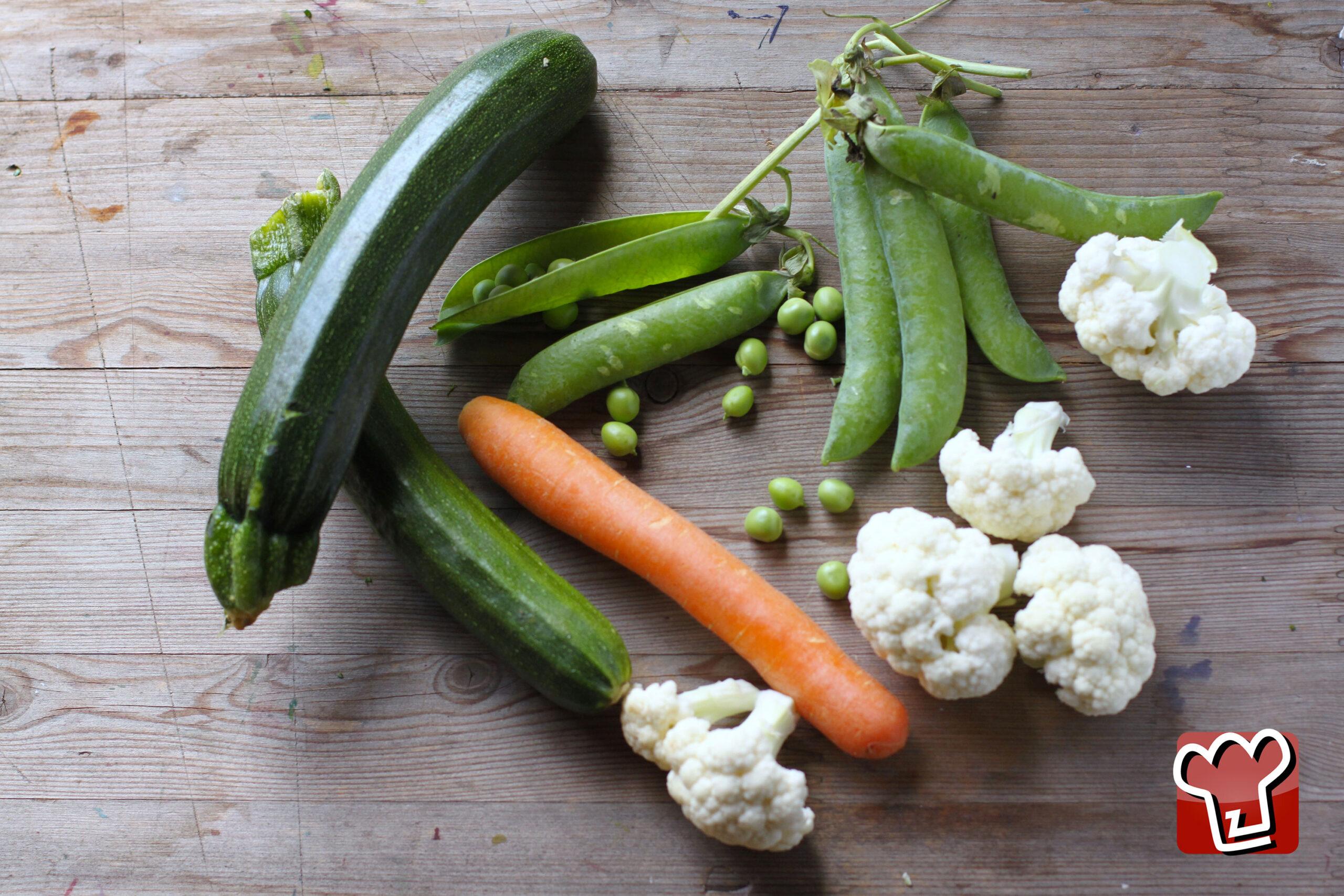 misto di verdure al vapore - Ricettepercucinare.com