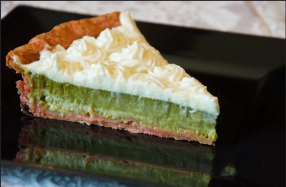 cheesecake al pistacchio - Ricettepercucinare.com
