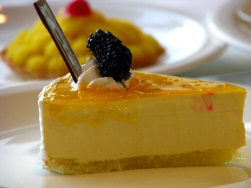 cheesecake arancia - Ricettepercucinare.com