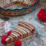 cheesecake zebrata - Ricettepercucinare.com